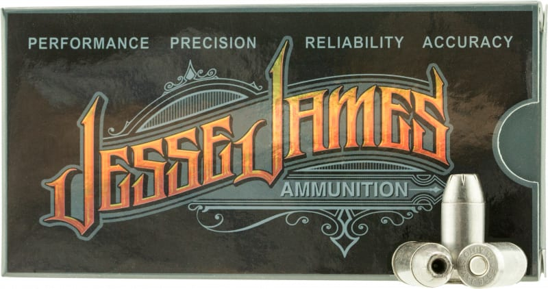 Ammo Inc 45230HPJJ20 Jesse James 45 ACP 230 GR Hollow Point - 20rd Box