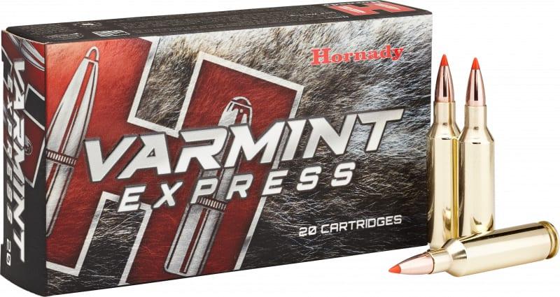 Hornady 81393 Varmint Express 6mm Creedmoor 87 GR V-Max - 20rd Box
