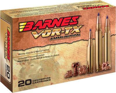 Barnes Bullets 30815 VOR-TX 6.5 Creedmoor 120 GR Tipped TSX Boat Tail - 20rd Box