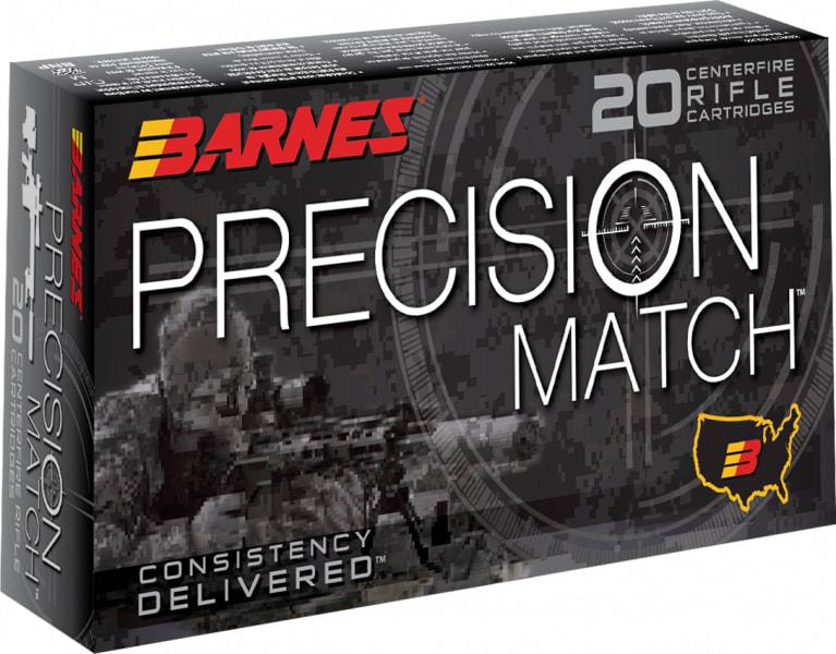 Barnes Bullets 30166 Precision Match 6.5 Creedmoor 140 GR Open Tip Match BT - 20rd Box