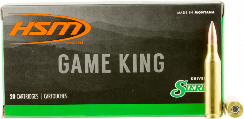 HSM 24317N Game King 243 Winchester 100 GR SBT - 20rd Box