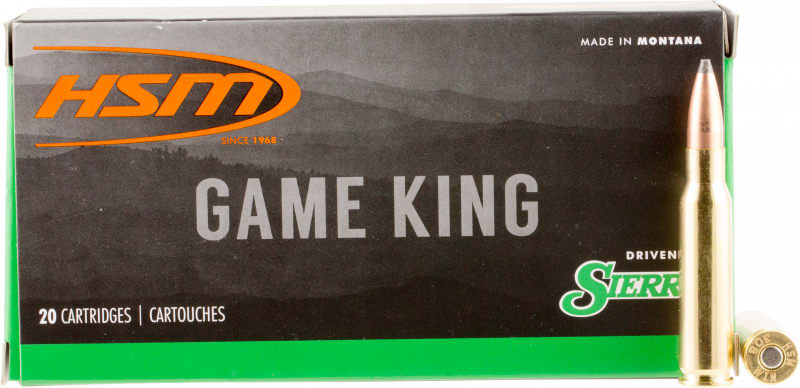 HSM 30841N Game King 308 Winchester/7.62 NATO 150 GR SBT - 20rd Box