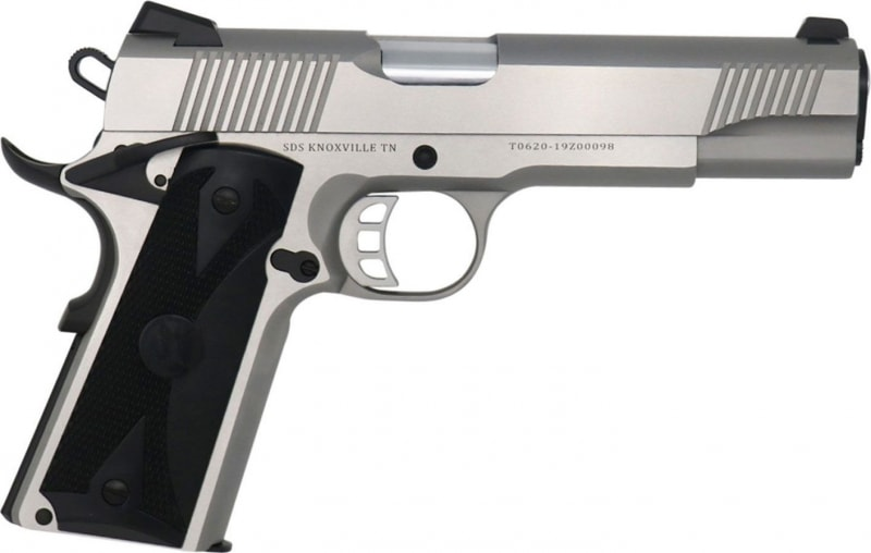 Tisas 1911 Duty Full Size 8+1 Stainless Steel 45 ACP