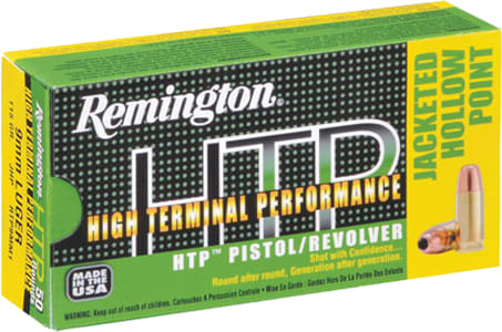 Remington Ammo RTP38S16 HTP 38 Special 110 GR Semi Jacketed Hollow Point - 50rd Box