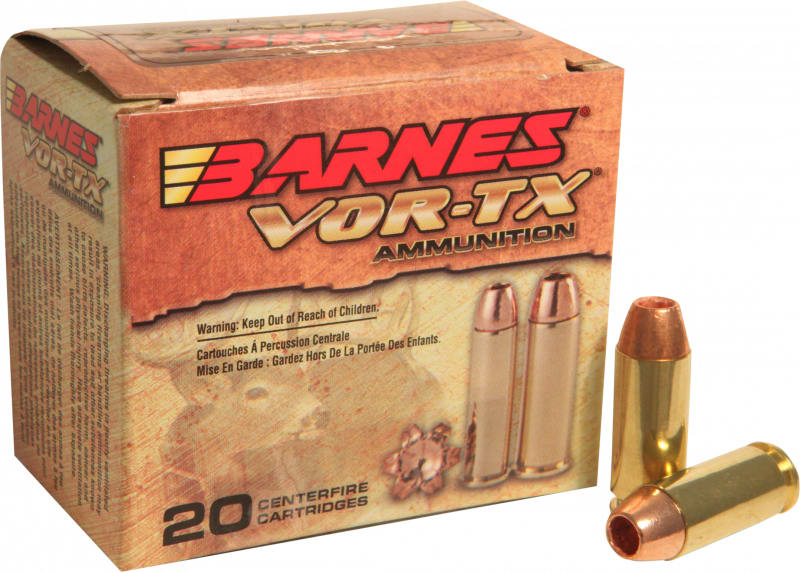 Barnes 31180 VOR-TX Handgun Hunting 10mm 155 GR XPB - 20rd Box