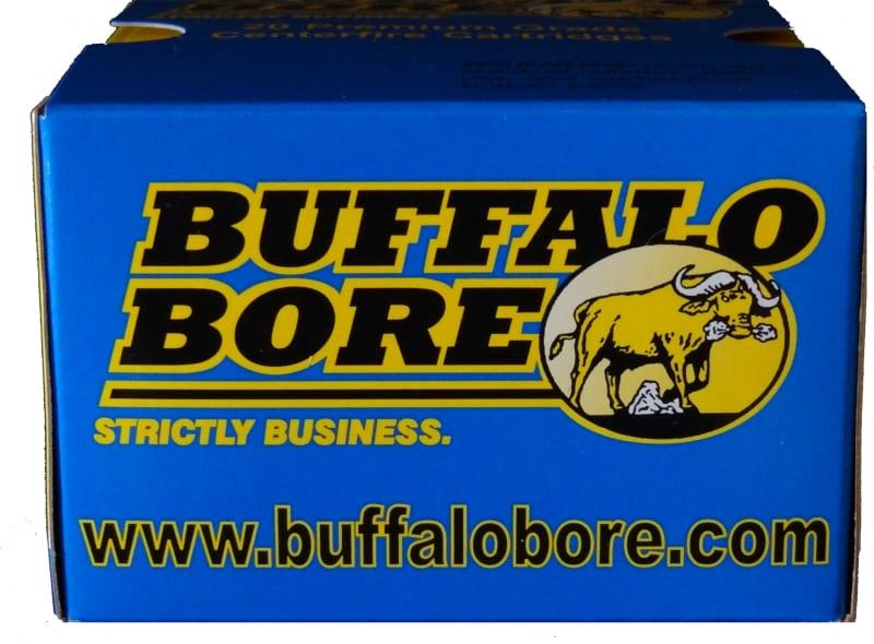 Buffalo Bore Ammo 32A/20 45 Auto Rim +P 255 GR Hard Cast Flat Nose - 20rd Box
