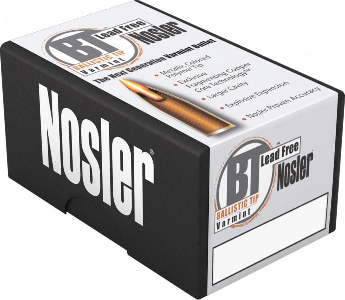 Nosler 60003 Trophy Grade 22-250 Remington 55 GR Ballistic Tip Lead-Free - 20rd Box