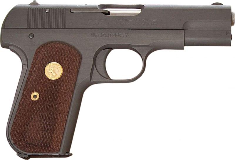 "Colt by US Armament 1903B 1903 Hammerless Single 3.75"" 8+1 Walnut Grip Blued"