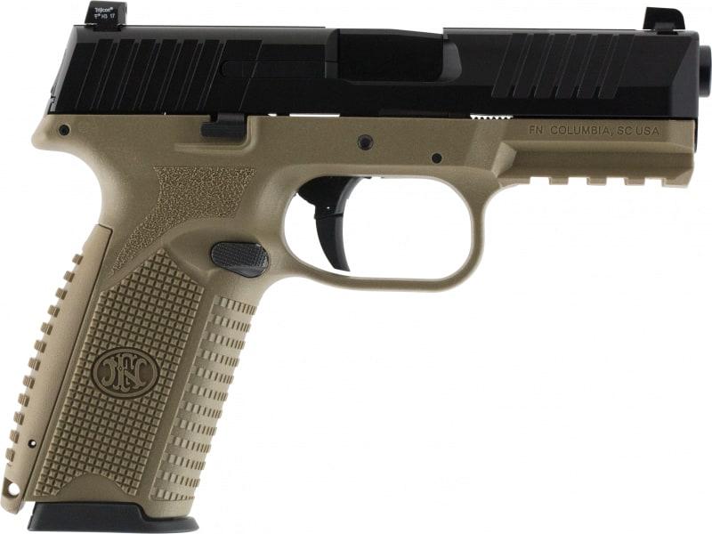 FN 66100359 509 NMS 17rd FDE/BLK LE