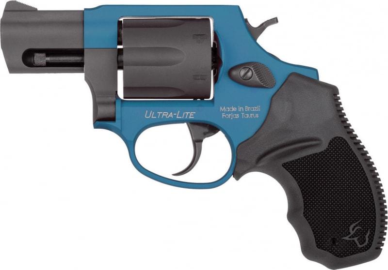 "Taurus 2856021ULC09 856 Ultra-Lite 38SP 2"" AZURE/BLK Revolver"