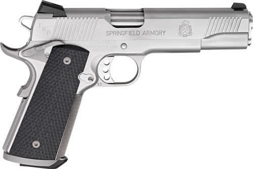 "Springfield Armory PC9107L18 1911 TRP Single 5"" 7+1 Black G10 Grip Stainless Steel"