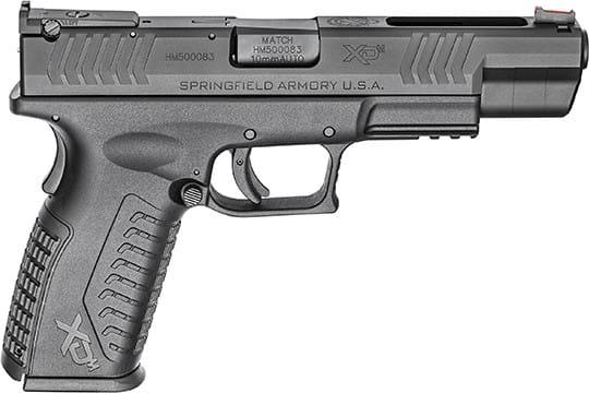 Springfield XDM952510BHCE 5.25 15rd Black