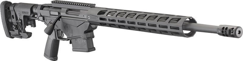 """Ruger 18028 Precision Rifle Bolt 20"""" 10+1/15+1 Precision Adjustable Hard Coat Anodized"""