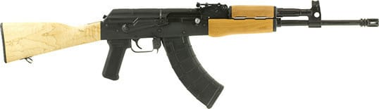 "Century Arms Romanian RH-10 AK-47 - WASR-10 Variant Rifle - 7.62x39 30rd 16.5"" Cold Hammer Forged Chrome Lined Barrel - RI3036-N"