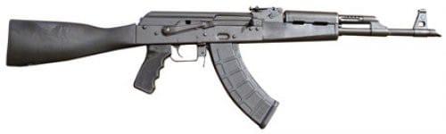 Red Army Standard RAS47 AK-47 Rifle, Black Polymer Furniture by Century Arms- RI2762-N