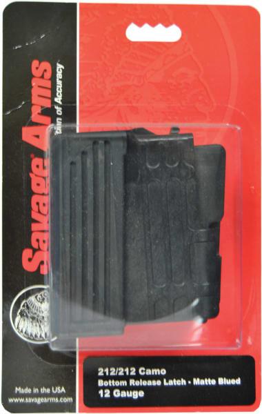 Savage 55220 212 12GA 2rd Black Finish