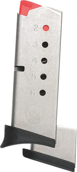 Smith & Wesson 199300000 Magazine 380 ACP Bodyguard Stainless Steel 6rd
