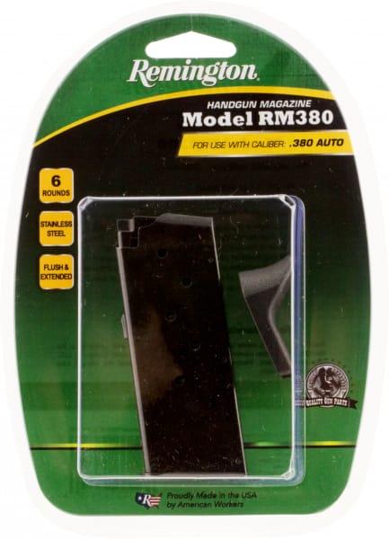 Remington 17679 RM380 380 ACP 6rd Black Finish
