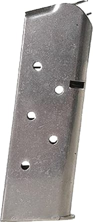 Springfield Armory PI4726 Magazine 1911 Officer Compact 45 ACP 6rd Stainless Blued