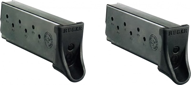 Ruger 90642 LC9/9S 9mm Luger 7rd Steel Blued Finish Two Pack