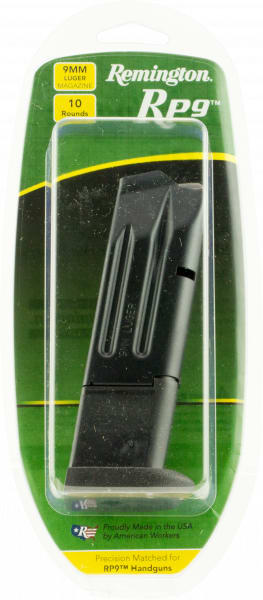 Remington 17742 Remington RP9 9mm 10rd Black Finish