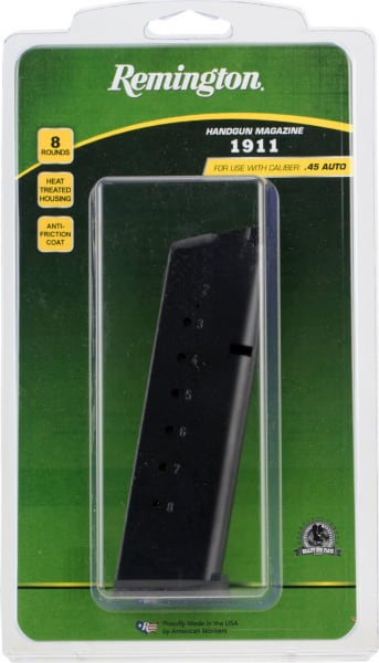 Remington 19624 1911 45 ACP 8rd Black Finish