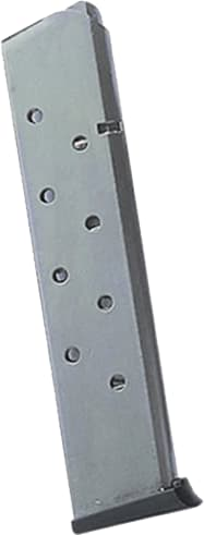 Springfield Armory PI4521 Magazine 1911 45 ACP 10rd Stainless Blued