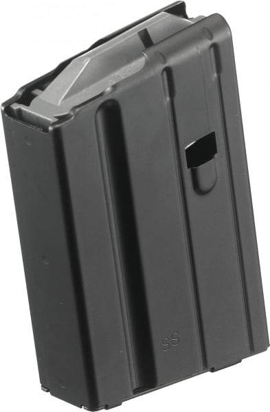 Ruger 90349 SR-556 6.8mm Remington SPC 5rd Stainless Steel Black Finish
