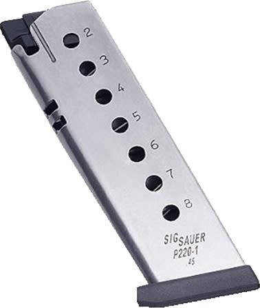 Sig Sauer MAG220458 Sig P220 45 ACP 8rd Blue Finish
