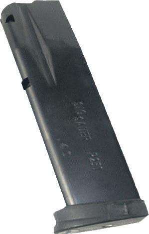 Sig Sauer MAGMODSC912 P250/P320 9mm 12rd Replacement Magazine Black Finish