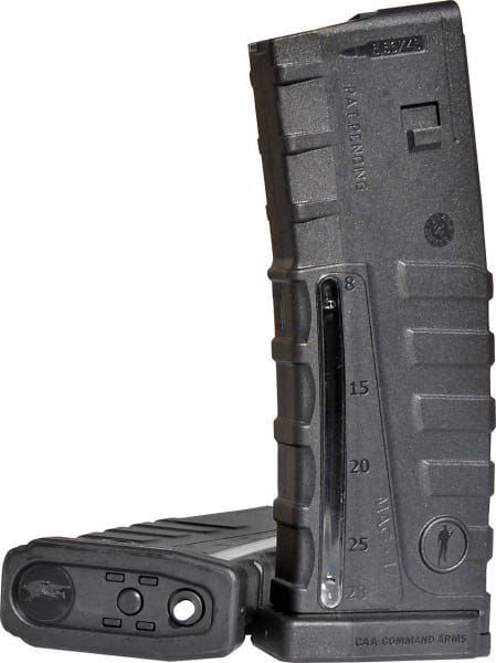 Command Arms MAG17 223 30rd Clear Window AR-15/M-16 Poly Black