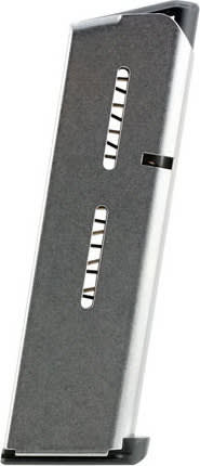 Wilson Combat 47CHV 1911 45 ACP +P 7rd Stainless Steel Finish Low-Profile Steel Base Pad