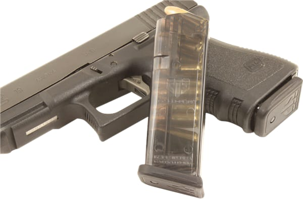ETS Group GLK-19-10 Glock 19 9mm 10rd G19/26 (Gen 1-4) Polymer Clear Finish