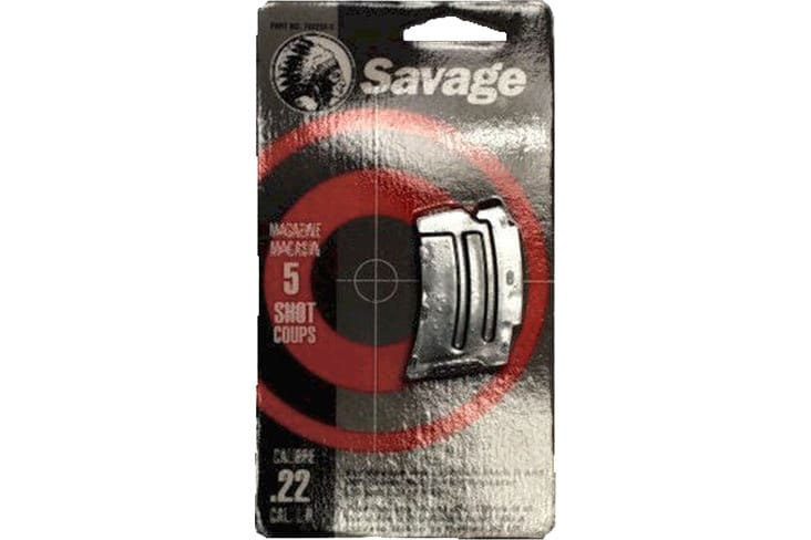 Savage 90009 93 Series 22 Winchester Magnum Rimfire/17 Hornady Magnum 5rd Stainless Finish