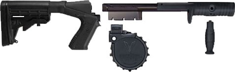"Adaptive Tactical 03000 Venom Rotary Conv Kit w/M4 Stock 12GA 2.75"" 10rd Moss500/8"