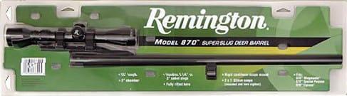 "Remington Barrels 27595 870 20GA 18.5"" Blued Cantilever with Scope"