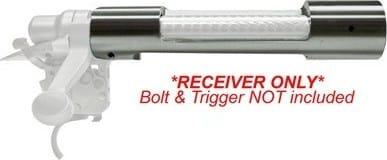 Remington 85283 700 Receiver Only Stainless Steel