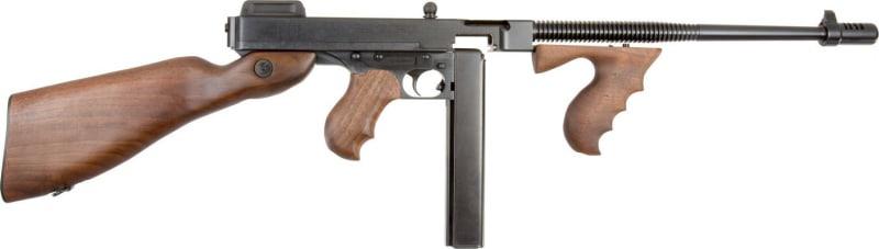 """Thompson T114 1927A-1 Deluxe Carbine Semi-Auto 45 ACP 16.5"""" 20+1 Walnut Stock Blued"""