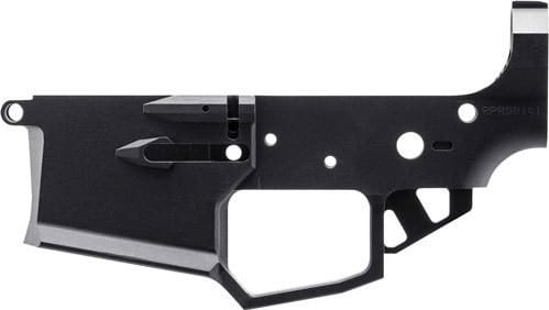 Rise Armament RA200BLK Receiver Stripped Lower Ripper Billet Black AR-15