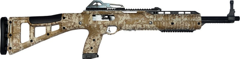 "Hi-Point 4095TSDD 4095TS Carbine Semi-Auto 40 Smith & Wesson 16.5"" 10+1 Polymer Skeleton Desert Camo Stock Digital Desert/Black"