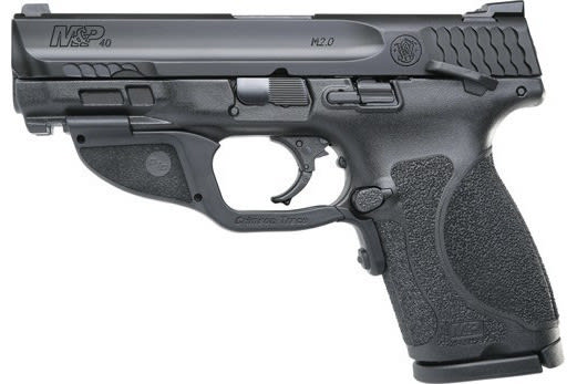 Smith & Wesson 12416 M&P9 M2.0 Compact FS13rdw/GRN Laser Thumb Sfty