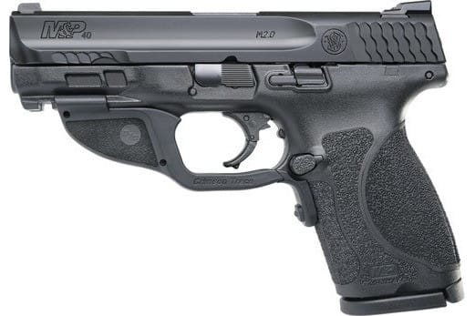 Smith & Wesson 12415 M&P40 M2.0 Compact FS13rdw/GREEN Laser Poly