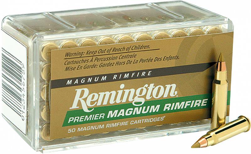 Remington PR22M1 Premier Gold Box 22WinMag AccuTip-V 33 GR - 50rd Box