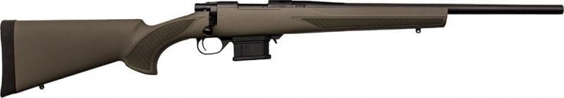 "Howa HMA30203+ Mini Action Rifle Bolt 223 Remington 20"" 10+1 Hogue Overmolded Green Stock Blued"