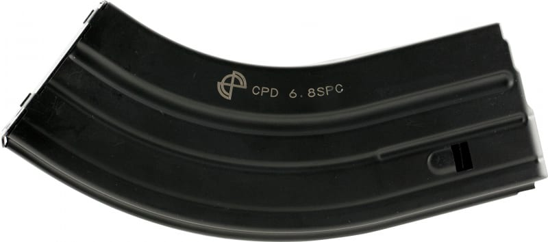 C-Products Defense 2868041207CPD 6.8mm Remington SPC 28rd Mag Black