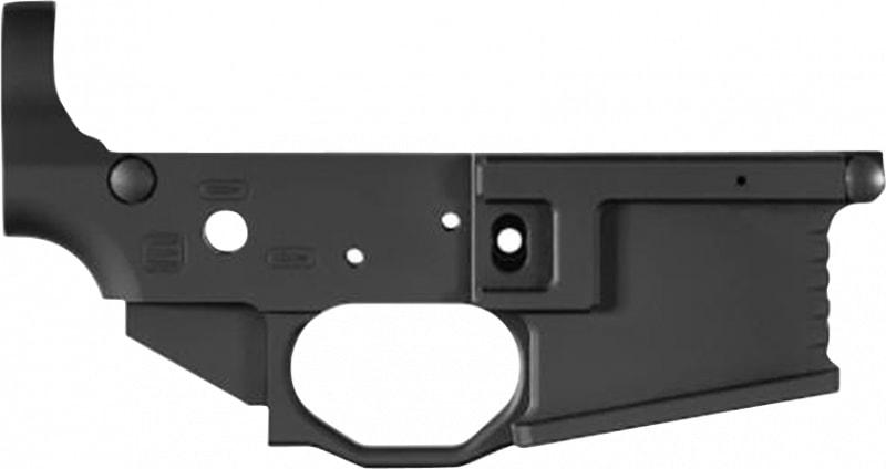 Black Rain Bromlrblk Black Rain OrdnanceMilled Lower AR-15 Black Hardcoat Anodized