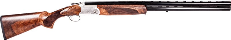"ATI GKOF12SVE Cavalry SVE Over/Under 12GA 28"" 3"" Turkish Walnut Stock Engraved Receiver Blued"