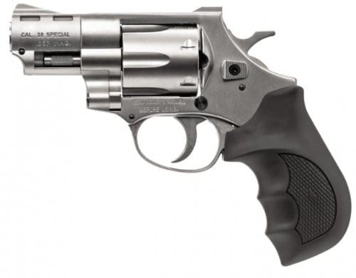 "EAA Windicator .357 Mag 2"" Bbl, #6 Shot Revolver, Nickel Finish"