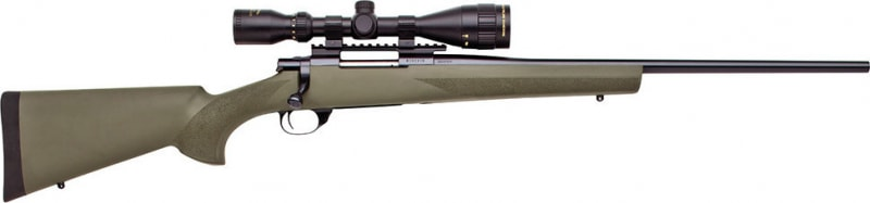 "Howa HGK62608+ Hogue Gameking Scope Package Bolt 270 Winchester 22"" 5+1 Hogue Overmolded Green Stock Blued"