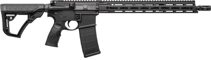 "Daniel Defense 02081047 DDM4 V7 Semi-Auto .223/5.56 NATO 16"" 20+1 6-Position Stock Black Hard Coat Anodized/Phosphate"